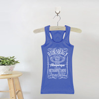 Female Breaking Bad Tank Tops I Am The One Who Knocks Vest Heisenberg Print Camis Cotton Fitness Sleeveless Camisole Lady Shirts
