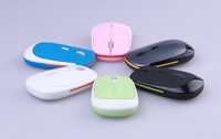 ON sale Super slim flat style 2.4Ghz wireless computer mouse with mini USB receiver and adjustable DPI definition mice
