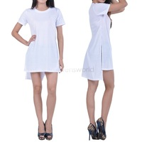 Hot Selling Women Hollow Out O-Neck Dresses Sexy Summer Party Casual Dress Beach Clothing S, M, L #11 SV005669