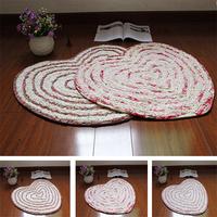 Wholesale Soft Ultrafine Heart-shape Slip-resistant Rug And Carpets For Living Room 50*70cm