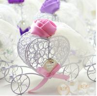 10pcs lot European creative wedding candy box and joyful wedding supplies and joyful box bag wedding candy box  mix color