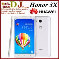 Original Huawei Honor 3X Pro G750 Mobile Phone 2GB RAM 8GB ROM 5.5'' IPS 1280x720 MTK6592 Octa Core 5MP 13.0MP Android 4.2 WCDMA