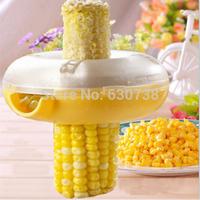 Kitchen Helper Easy Peel One Step Corn Kerneler Stripper Peeler Remove Corn 3pcs/lot