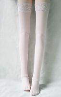 12# White 1/4 MSD DZ BJD Dollfie Sexy Fishnet Stockings