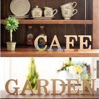 10cmX1.5cm  Wooden Wood 26 Letter Alphabet Word Standing Wedding Party Home Decor#57897