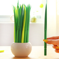 Free E-packet Shipping  W039 Lay grass styling gel pen creative stationery  gel pen signature pen