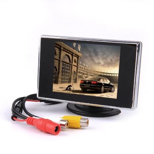 "NEW 3.5"" TFT LCD Color Screen Car Rearview Monitor DVD VCR(China (Mainland))"