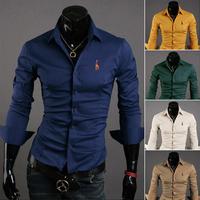 wholesale sales, Free drop shipping Mens Fashion Designer Cross Line Slim Fit Dress man Shirts Tops Western Casual M-4XL 8029