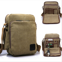2014 New Men Messenger Bags Casual Multifunction Men Travel Bags Satchel Canvas Shoulder Bag Leisure Handbags Small Bolsas