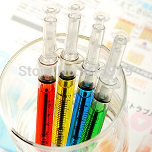 Free shipping 30pcs Hotsale! promotional Syringe Pen Nurse Ball Point Pen Promotion needle cylinder pen wholesale(China (Mainland))