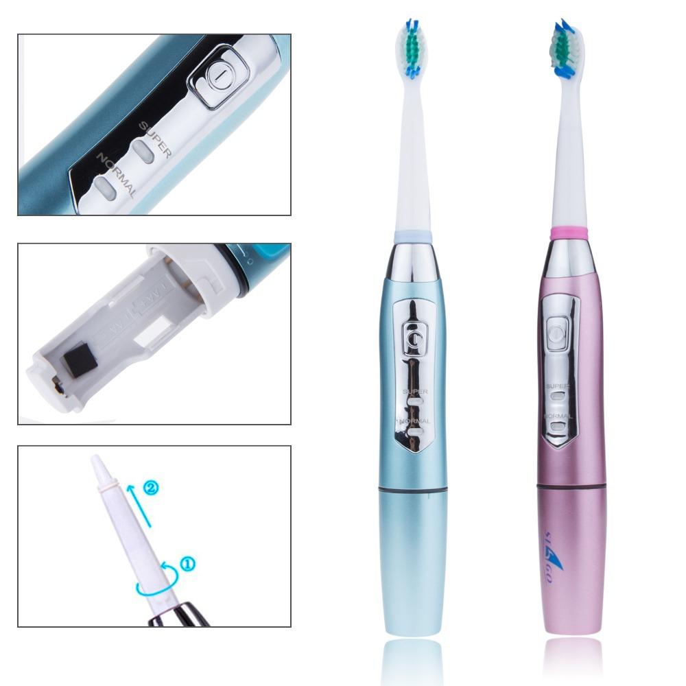 Frete grátis Profissional de Waterproof massagem elétrico alimentado Escova 3 cabeças Rotativo Escova dental cuidados de higiene bucal(China (Mainland))