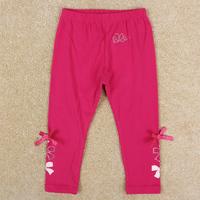 Girls pants Nova brand 2014 new spring autumn trousers lovely bow pants for children girls G5141