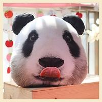National treasure Panda Shape Home Pillow Decoration Cotton Cushion Covers Soft Lovely Animal Car pillow Case 38*43CM B7668