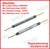 MKA50202  x160pcs/lots Russia MKA Reed magnetic power large voltage MKA50202 current 5A original spot