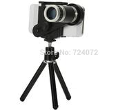 8X Magnification Mobile Phone zoom Telescope Magnifier Optical Camera Lens+Tripod+Holder Smartphone telescope lens