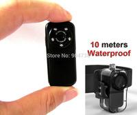 HD 1080P Waterproof mini camera DVR Alloy Shell Sport Helmet Action Cam F38 Thumb Camera Free Shipping