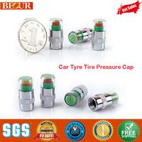 2014 Rushed Top Fasion 12v Electronics For Cars Car Alarm Car Tyre Tire Pressure Cap, Monitor Indicator Valve Stem Cap Sensor
