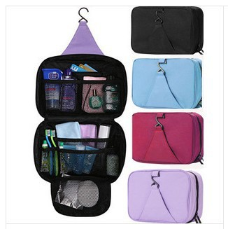 new fashion 2014,large capacity outdoor travel wash bag cosmetic bag hanging cosmetic travel bag SC143(China (Mainland))