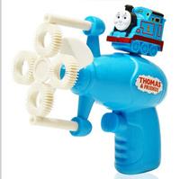 Thomas electric bubble gun automatic blowing gun new hot summer toys