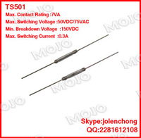 TS501 x1000pcs/lots Original and New cheap American STANDEX normally open reed TS501 12.7mm diameter 2.3mm length