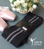 Louis xiv ballet 7 pantyhose double vertical stripe sports type