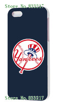 2014 fashion! Unique Newest Designs! THE New York Yankees Hard cover cases for iPhone5 5s 1PCS + free shipping