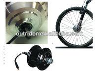 Hot sale pormotion OR01A1 36V front  wheel V brake halless brushless electric bicycle hub motor  CE Approved