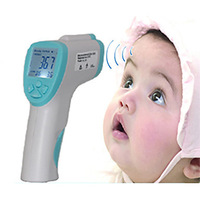 EIT 1302 LCD Non-contact Laser Infrared IR Body Thermometer for Baby (32~43,0.2)