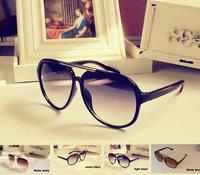 New Arrival Unisex  Eyewear Aviator Oversized Frame Retro Sunglasses for Men/ Woman UV400  4colors