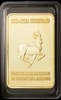(lucya0011)Newest! Free Shipping Wholesale 10 Pcs/Lot 999 gold Plated Lion Gold Bar