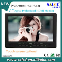 new product ! 7 inch  touch pc monitor with 16:9 wide  touch screen + 1080P HDMI input
