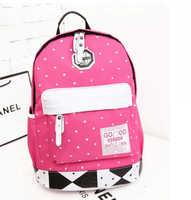 HOT! Oxford Big thumb Printing women Backpack Students School Bag Travel Bag shoulder bags 5 colors