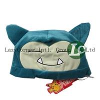 Pokemon Plush Toys Doll Soft Snorlax Hat 30*21cm
