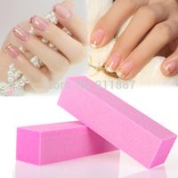 Wholesale 10pcs/Lot Pro Acrylic Nail Art Tips Buffer Sanding Block Polish Gel Buffing Sanding Files Remove