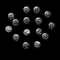 fast shipping ePacket 20 pcs /lot wholesale mix color style random fashion snap metal  buttons for DIY leather bracelets