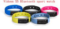 Vidonn X5 Bluetooth 4.0 IP67 Smart Wristband Bracelet Sports Sleep Tracking Health Fitness Pedometer Smart Watch