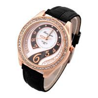 Women Dress Watches Analog Vintage Ladies Quartz Watch Retro Big Table Wristwatches Vintage Reloj Mujer Fashion watch Dropship