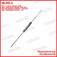 MLRR-3 X1000pcs/lots Original and New :American HAMLIN reed glass length 15MM: MLRR-3 current 1A