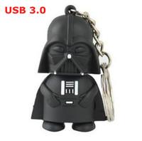Retail 8GB 16GB 32GB 64GB Cartoon Character Star War Dark Darth Vader Usb 3.0 Flash Drive Pen Drive Memory Stick Free Shipping