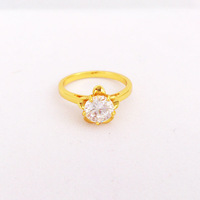 New Arrival 24K Gold Plated Ring,Ring For Women Jewelry.Free Shipping Austrian Crystal Ring,Wedding Jewelry Ring D014