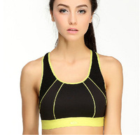 Professional High Impact Sports Bra Vest Shock Absorber Maximum Support Padded Running Bra Wireless Bra Workouts, free shipping