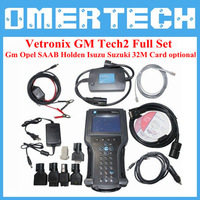 2014 Wholesale GM TECH 2 Diagnostic Tool  + TIS2000 with Dongle +32MB Card Support Opel SAAB Holden Isuzu Suzuki Vetronix TECH 2