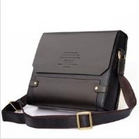 brand new  2014 New composite Leather Men's handbags Messenger Briefcase Bags Men Shoulder Bag Laptop Bag (NSB-004)