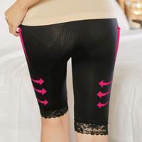 Women Slimming Pants body shaper firm control panties abdomen  women slimming panties waist cincher seamless black free size