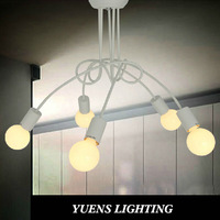 2014 Fashion design of kids room lamp Nordic dome light 3-head ceiling light YSL-1836C Free Shipping