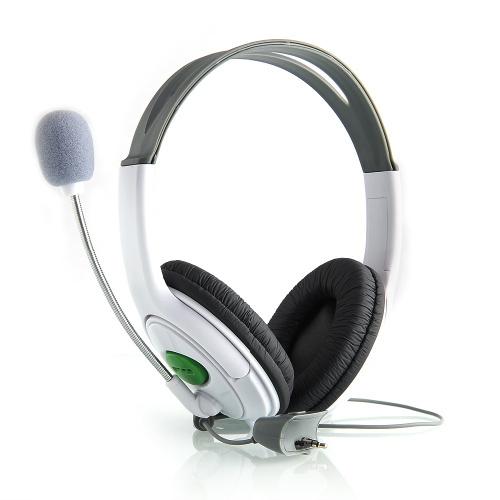 Earphone Live Headset Headphone+Microphone for Microsoft XBOX360 XBOX 360 Slim Free shipping(China (Mainland))