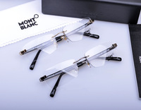 The gentleman optical glasses Pure titanium frames Super light frames Myopia spectacle frame class frames Montbblanc Glasses