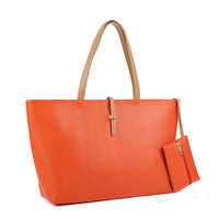 1000pcs/lot 18 Colors Free shipping 2014 women commuter belt buckle big bag wild colorful fashion shoulder bag shopping handbag