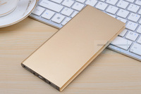 Gold Ultra-thin polymer power bank 20000mah,portable charger external battery 20000mah power bank