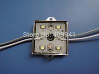 4 pcs  SMD5050 LEDs  LED Modules Waterproof IP68 DC12V Warm White/Pure White Square Shape Free ship
